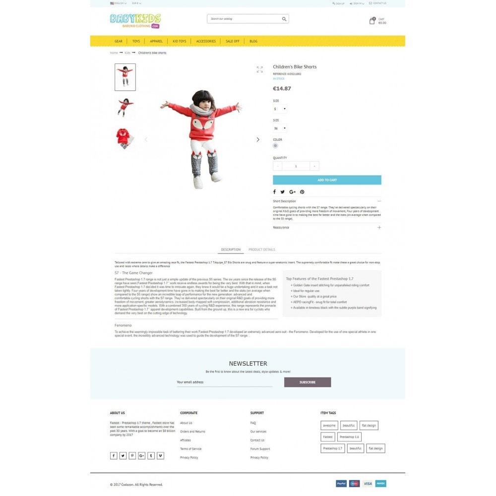 theme - Zabawki & Artykuły dziecięce - Kids & Toys - smart responsive Store - 5