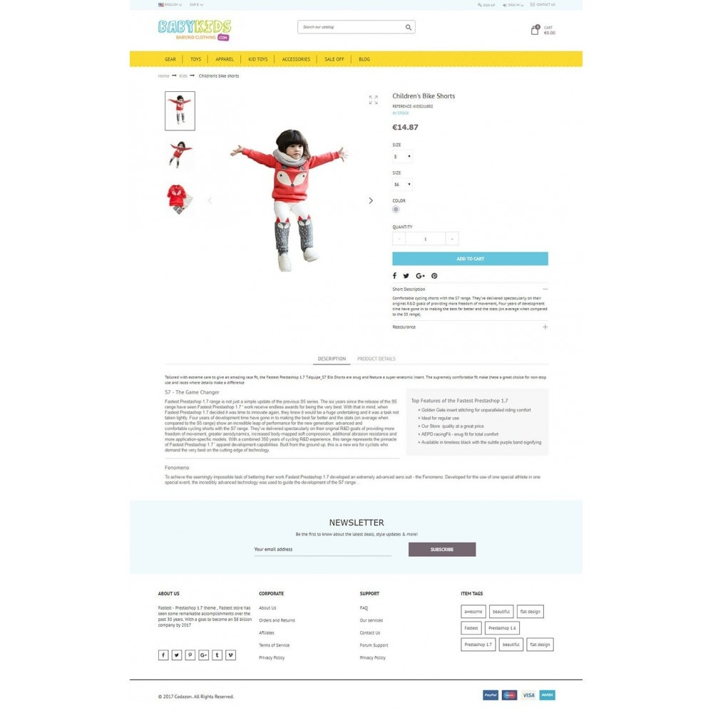theme - Kinder & Spielzeug - Kids & Toys - smart responsive Store - 5