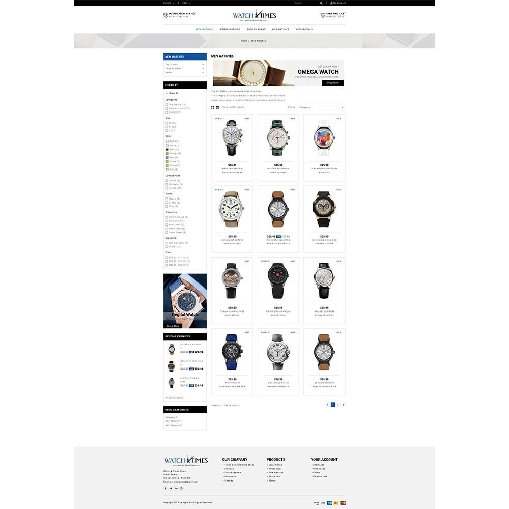 theme - Schmuck & Accesoires - Watch & Times Store - 3