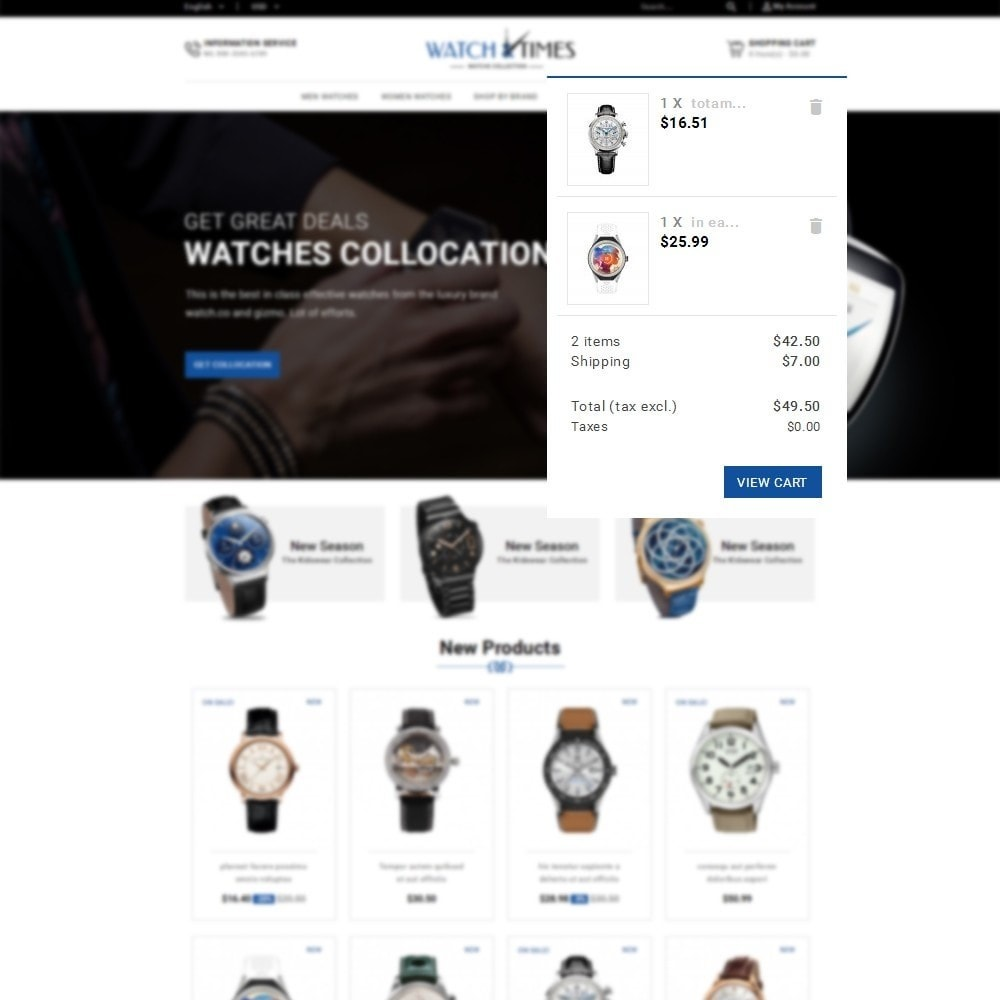 theme - Schmuck & Accesoires - Watch & Times Store - 6