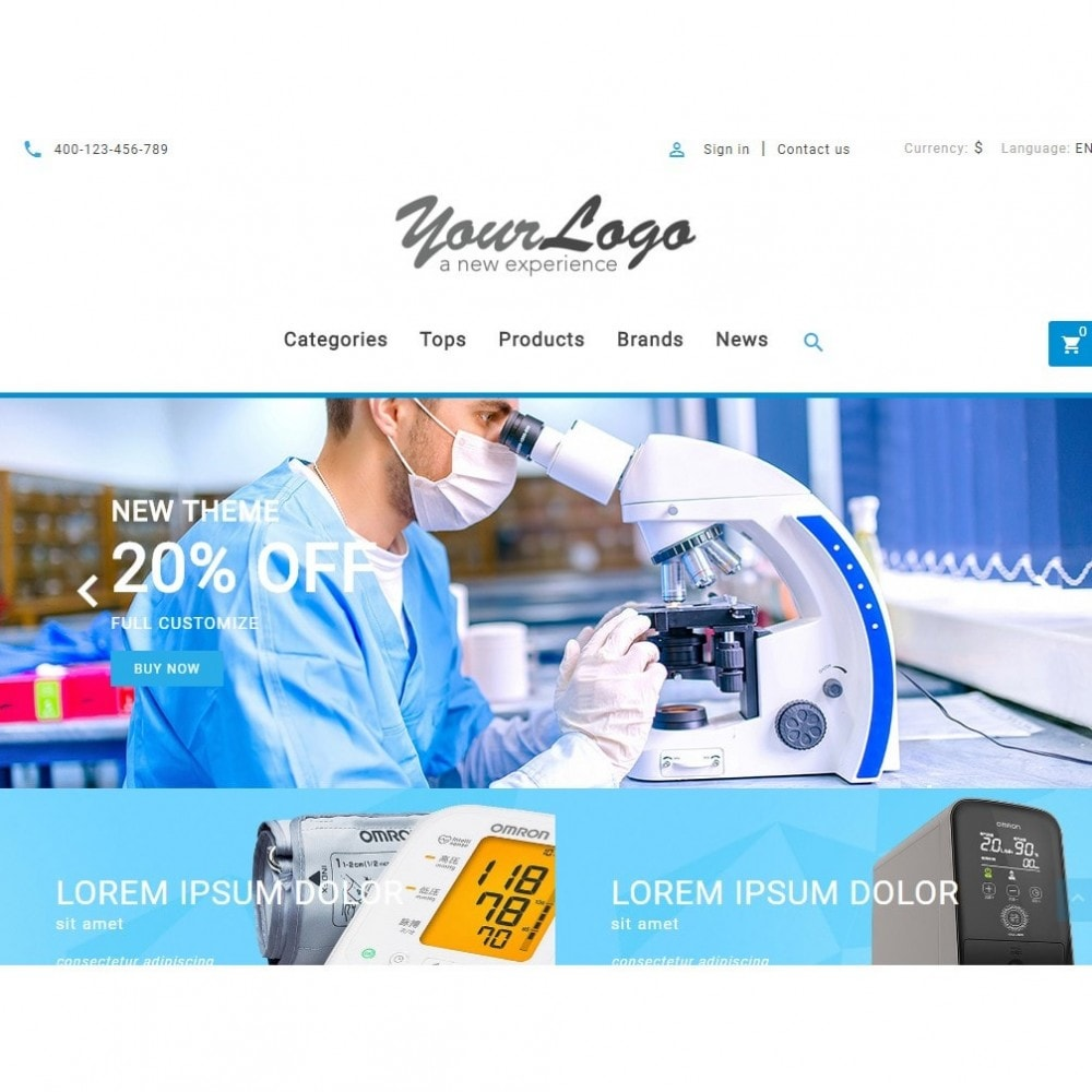 theme - Gezondheid & Schoonheid - UP Medical Equipment Store - 7