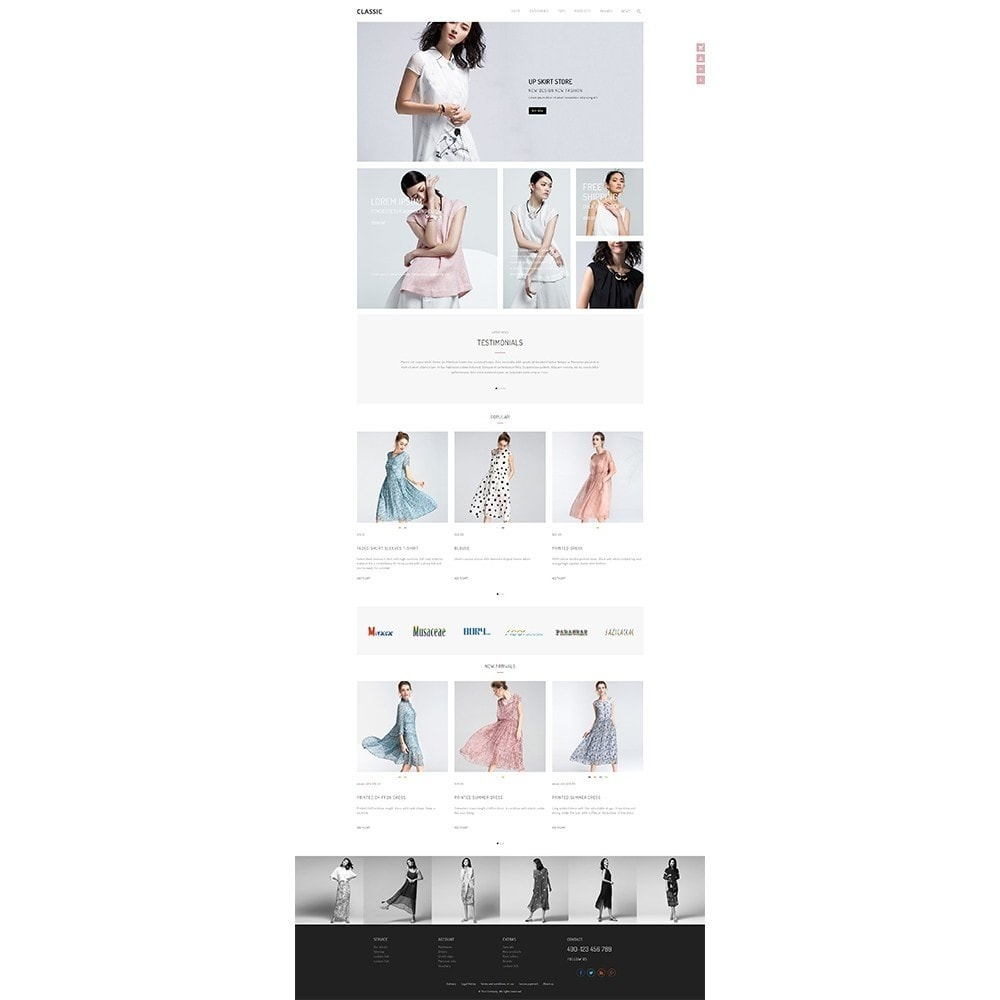 theme - Мода и обувь - UP Fashion and Elegance Store - 2