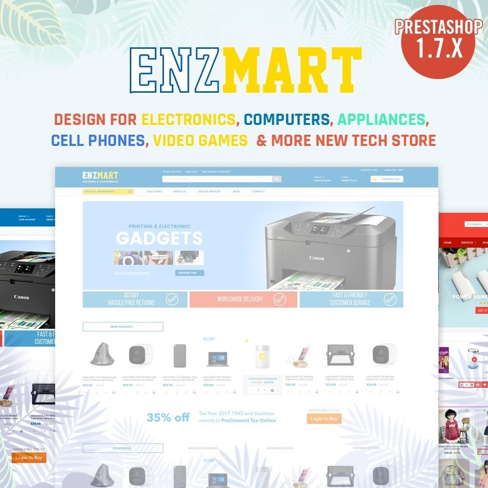 theme - Electronique & High Tech - Electronics, computers, appliances Supermarket - 1
