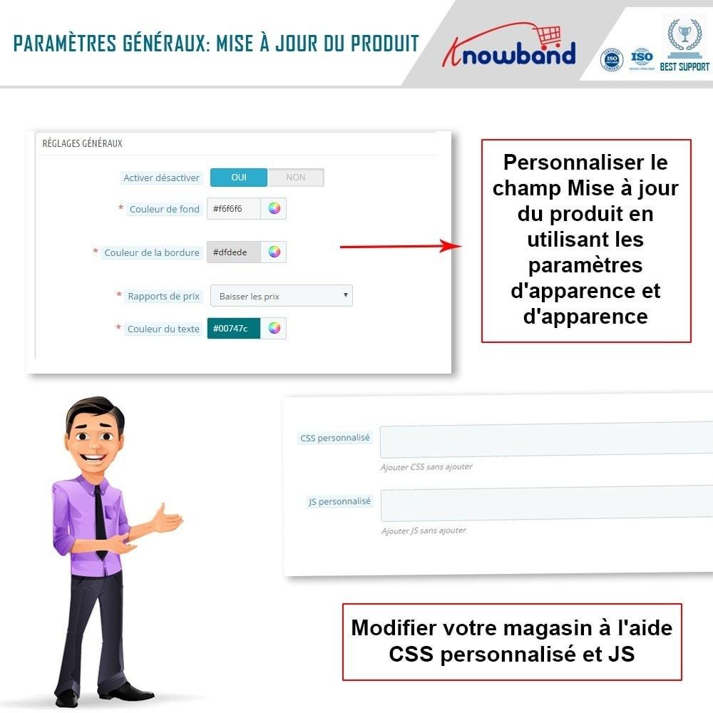 module - E-mails & Notifications - Knowband - Notification de Mise à Jour des Produits - 3
