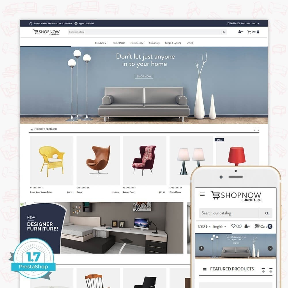 theme - Casa & Jardins - Shopnow Furniture Store - 1