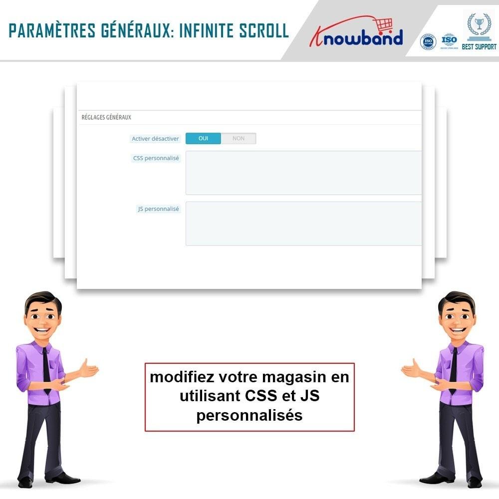 module - Outils de navigation - Knowband - Défilement Infini - 6