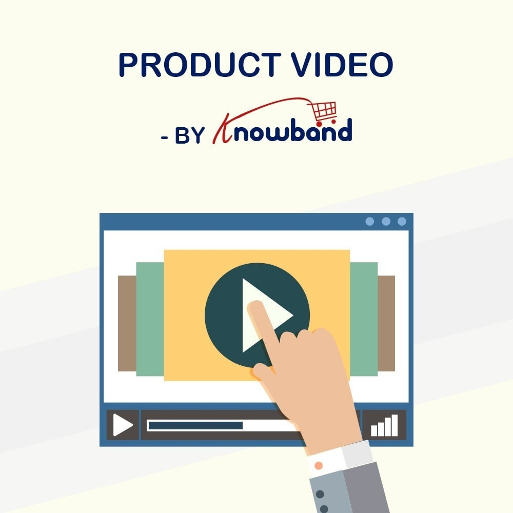 module - Видеоролики и Музыка - Knowband - Product Videos (Youtube,Vimeo & Dailymotion) - 1