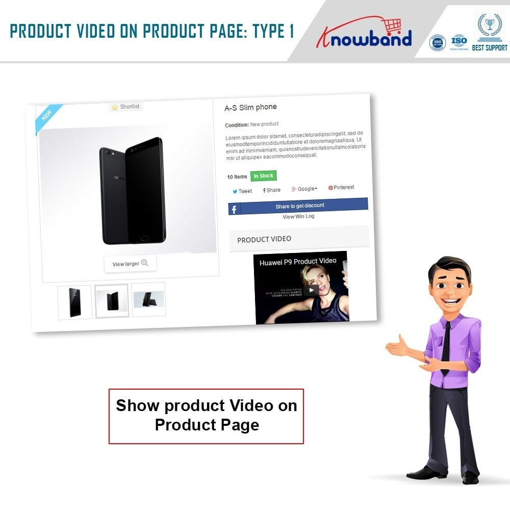 module - Video's & Muziek - Knowband - Product Video - 2