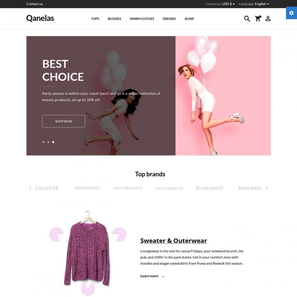 theme - Moda & Calçados - Qanelas Fashion Store - 2