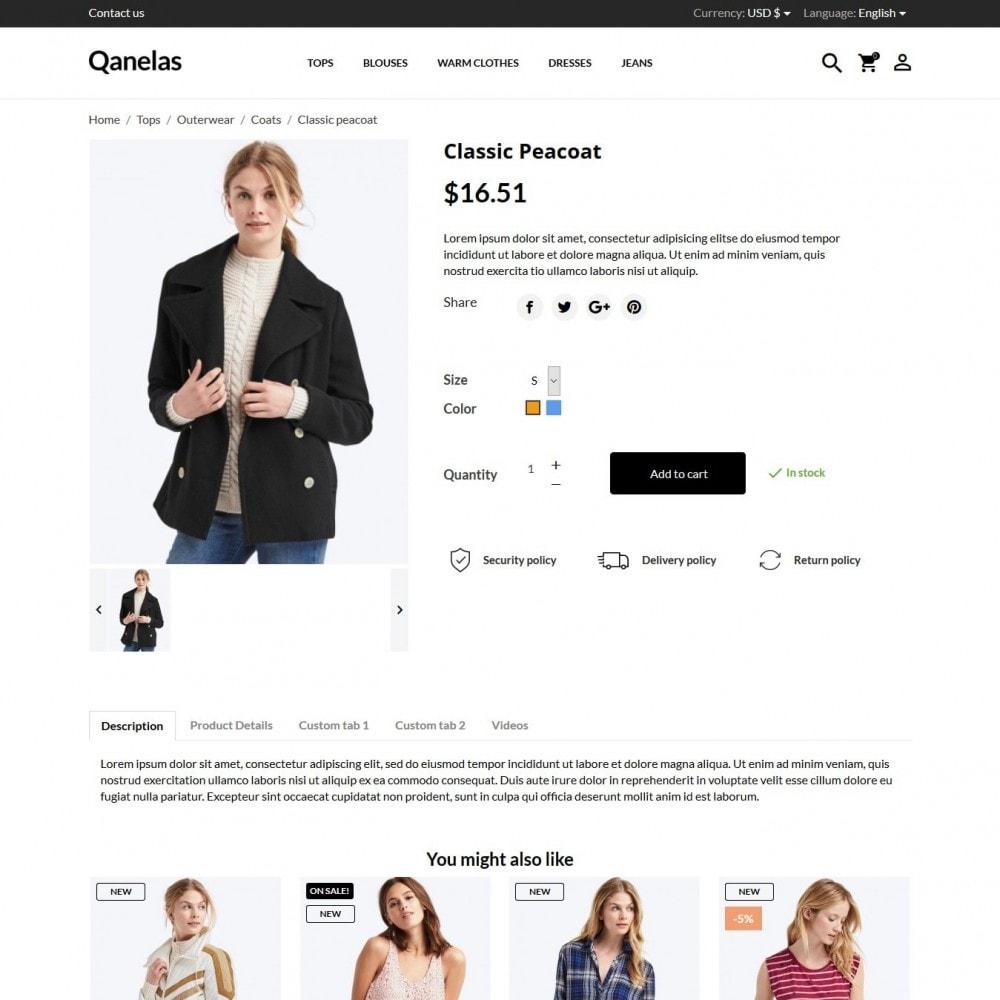 theme - Moda & Calçados - Qanelas Fashion Store - 7