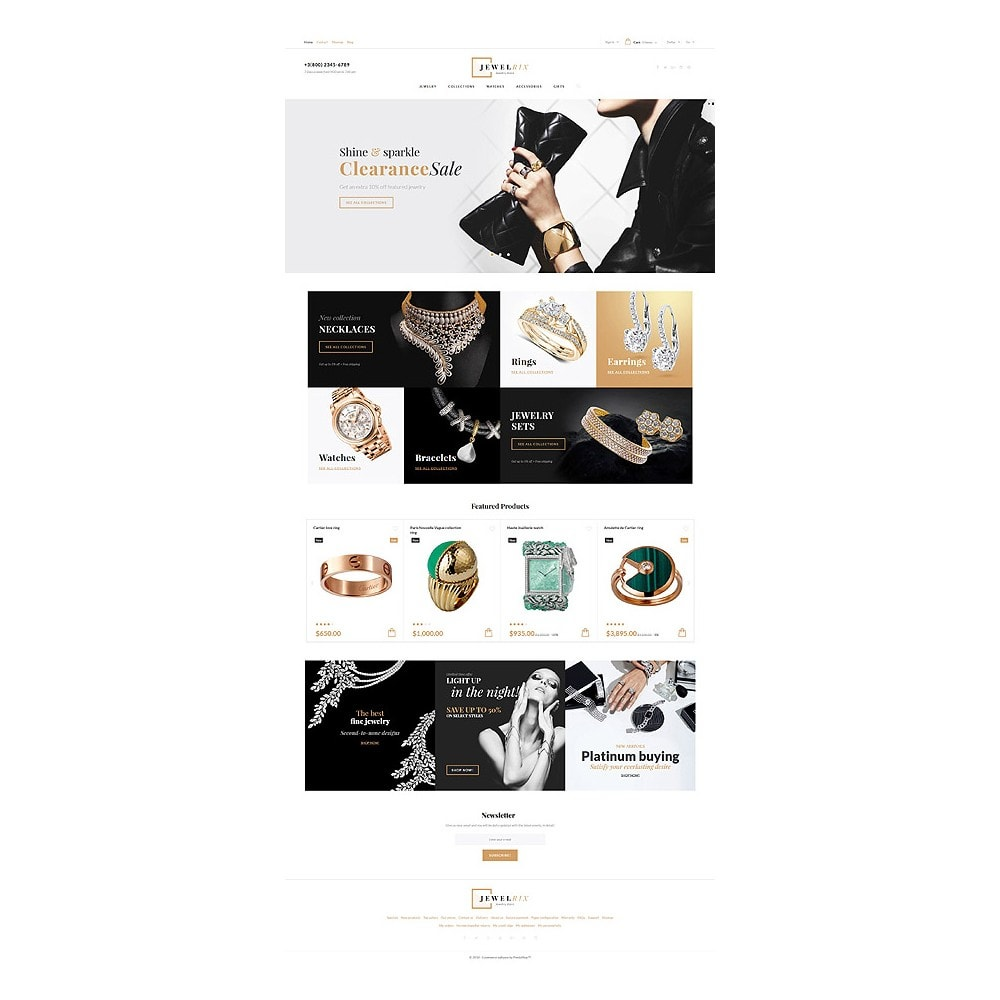 theme - Mode & Chaussures - Jewelrix - Jewelry Store - 10