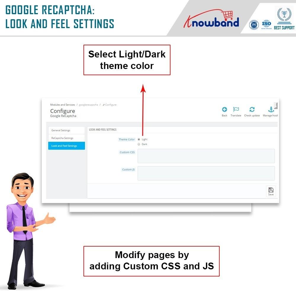 module - Veiligheid & Toegang - Google reCaptcha - 8