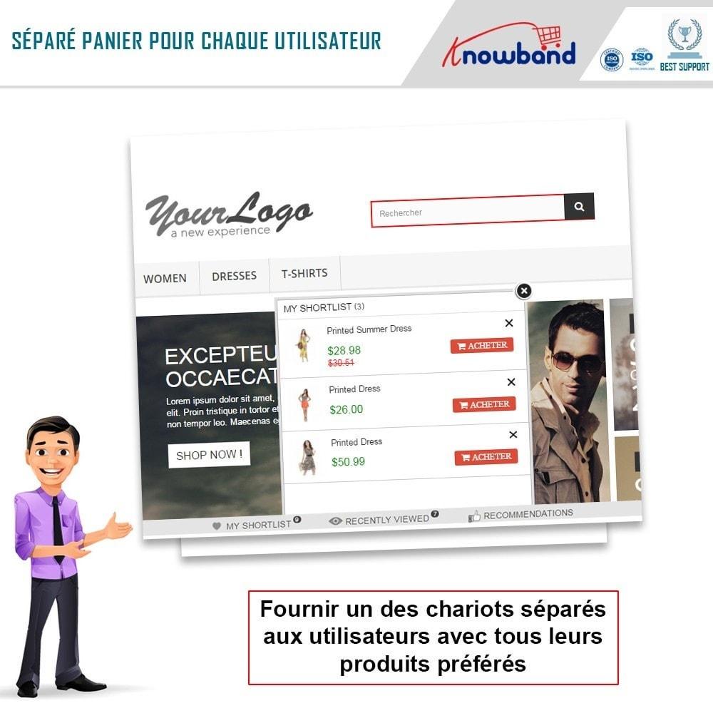 module - Liste de souhaits & Carte cadeau - Knowband - Liste de souhaits avancée - 3
