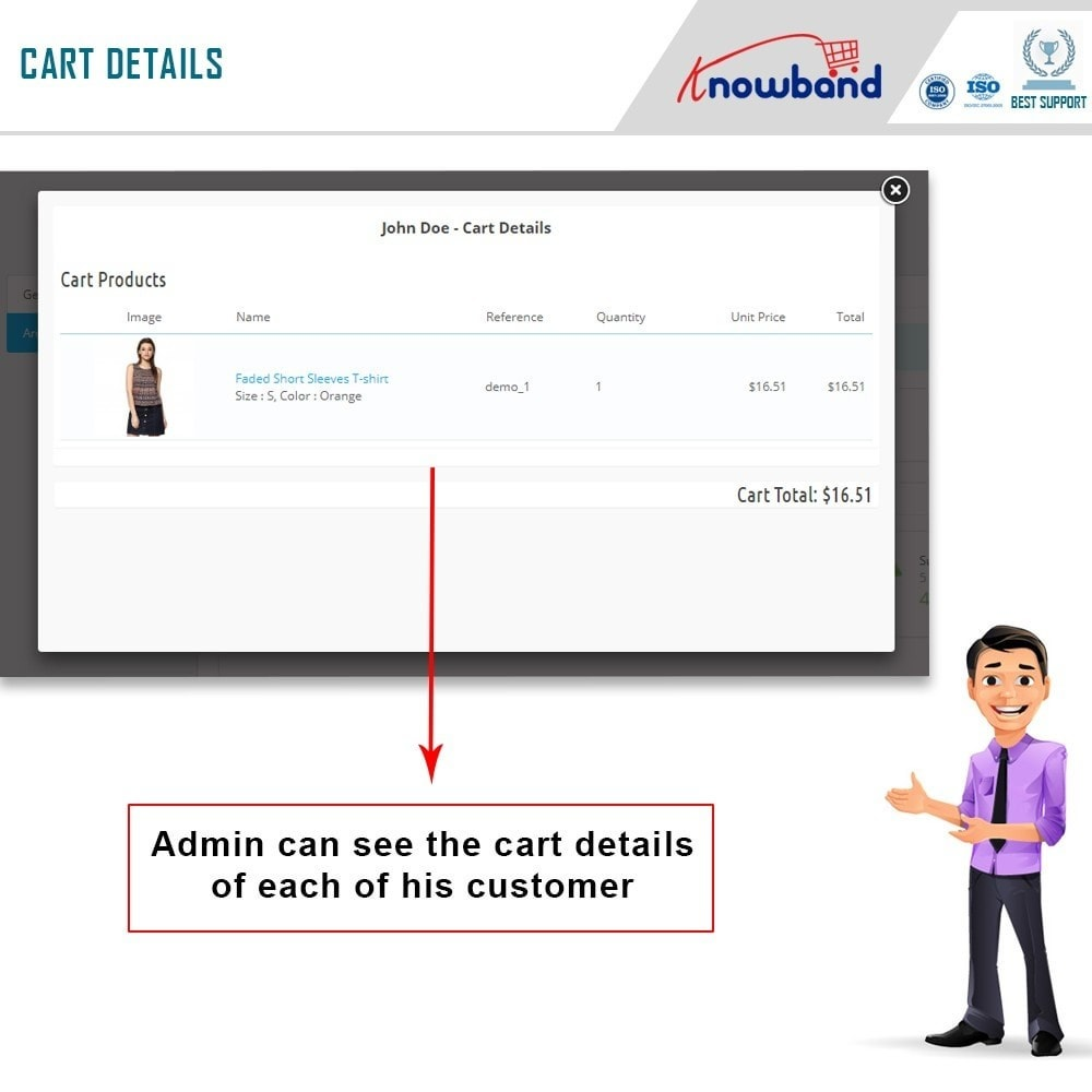module - Analyses & Statistieken - Knowband - Analytics for Checkout page - 4