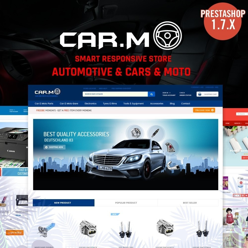 Automotive & Cars & Moto - smart responsive store