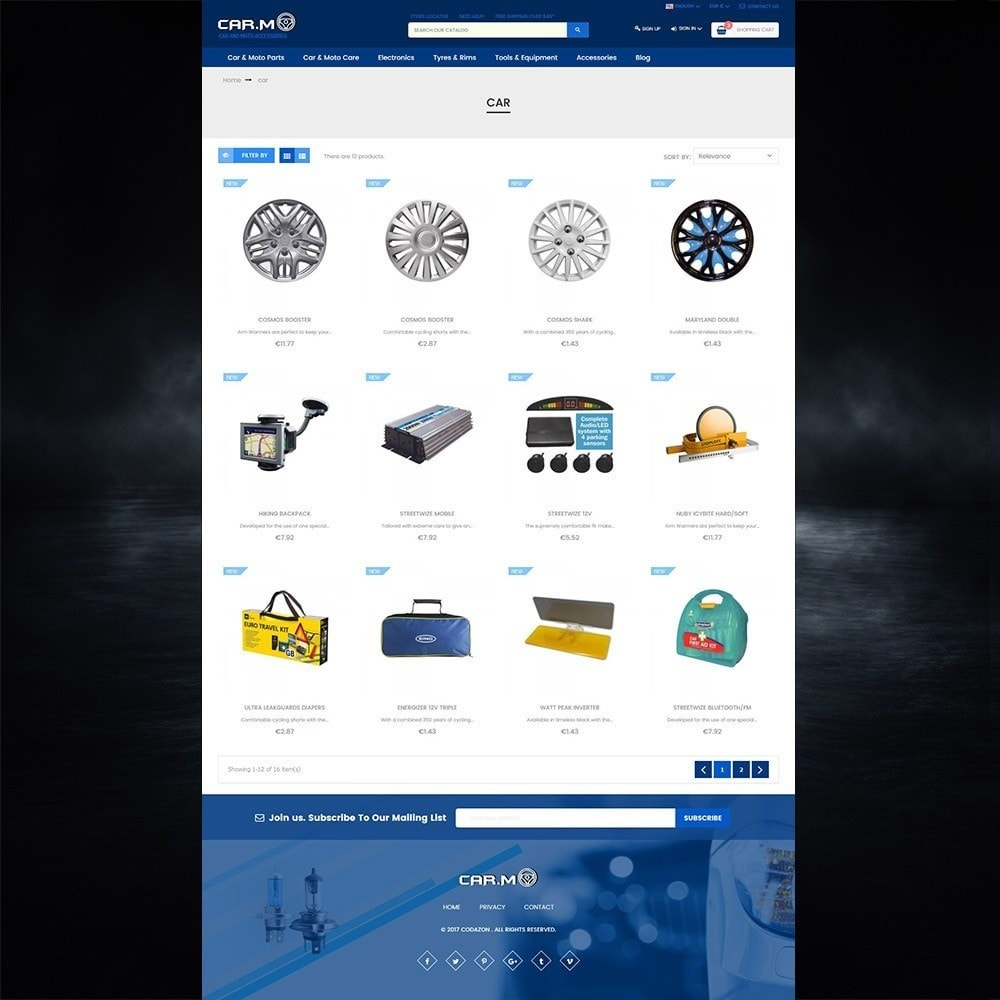 theme - Auto's & Motoren - Automotive & Cars & Moto - smart responsive store - 3