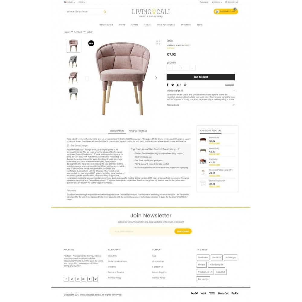 theme - Дом и сад - Furniture & Interior & Garden- smart responsive store - 5