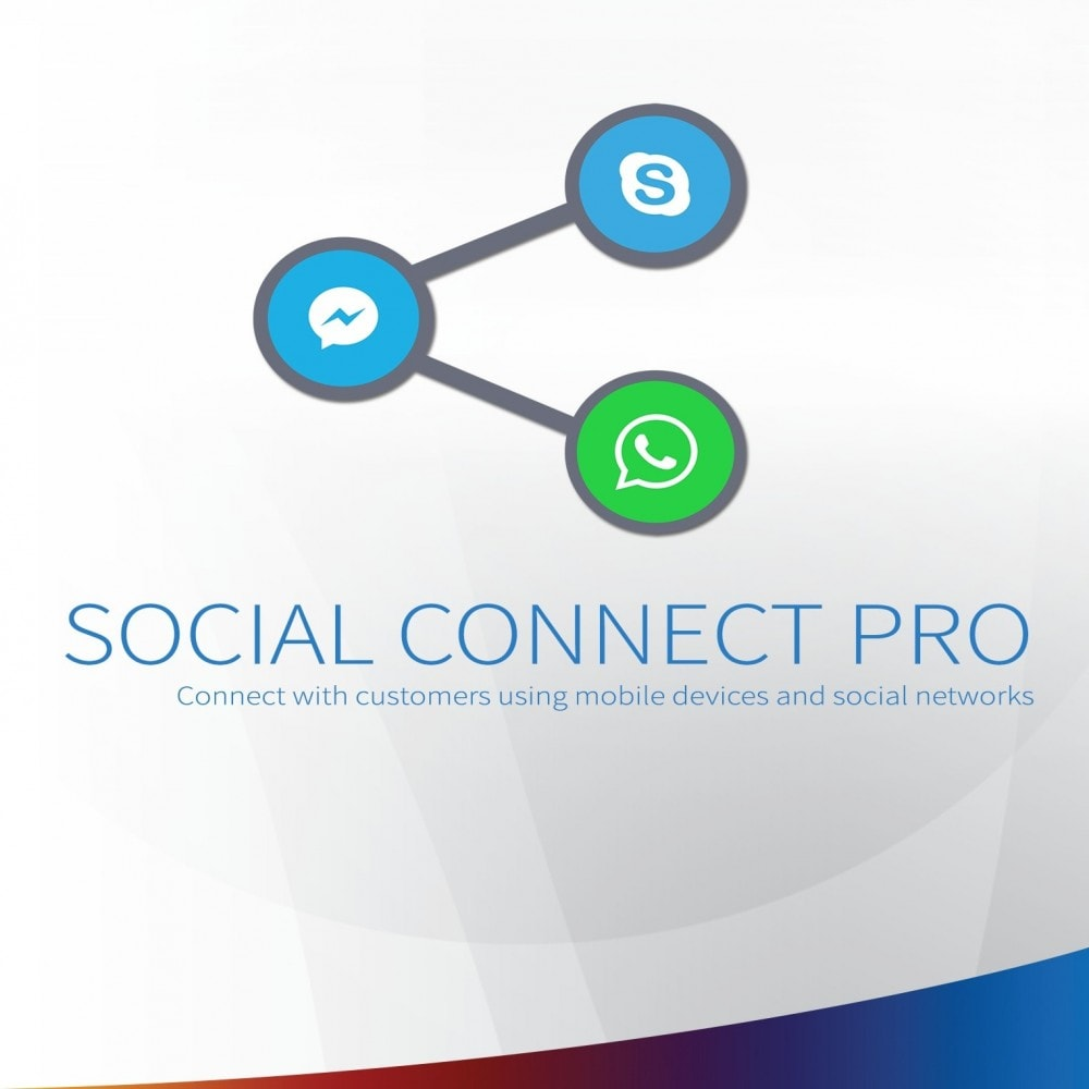 module - Ondersteuning & Online chat - Social Connect Pro - Fancy Social, Call and SMS Button - 1