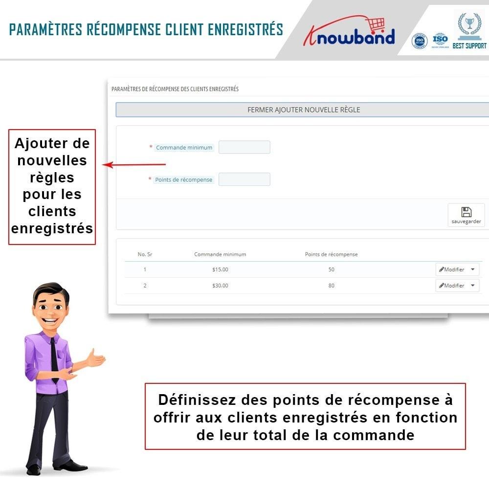 module - Fidélisation & Parrainage - Knowband - Points de Fidélité - 7