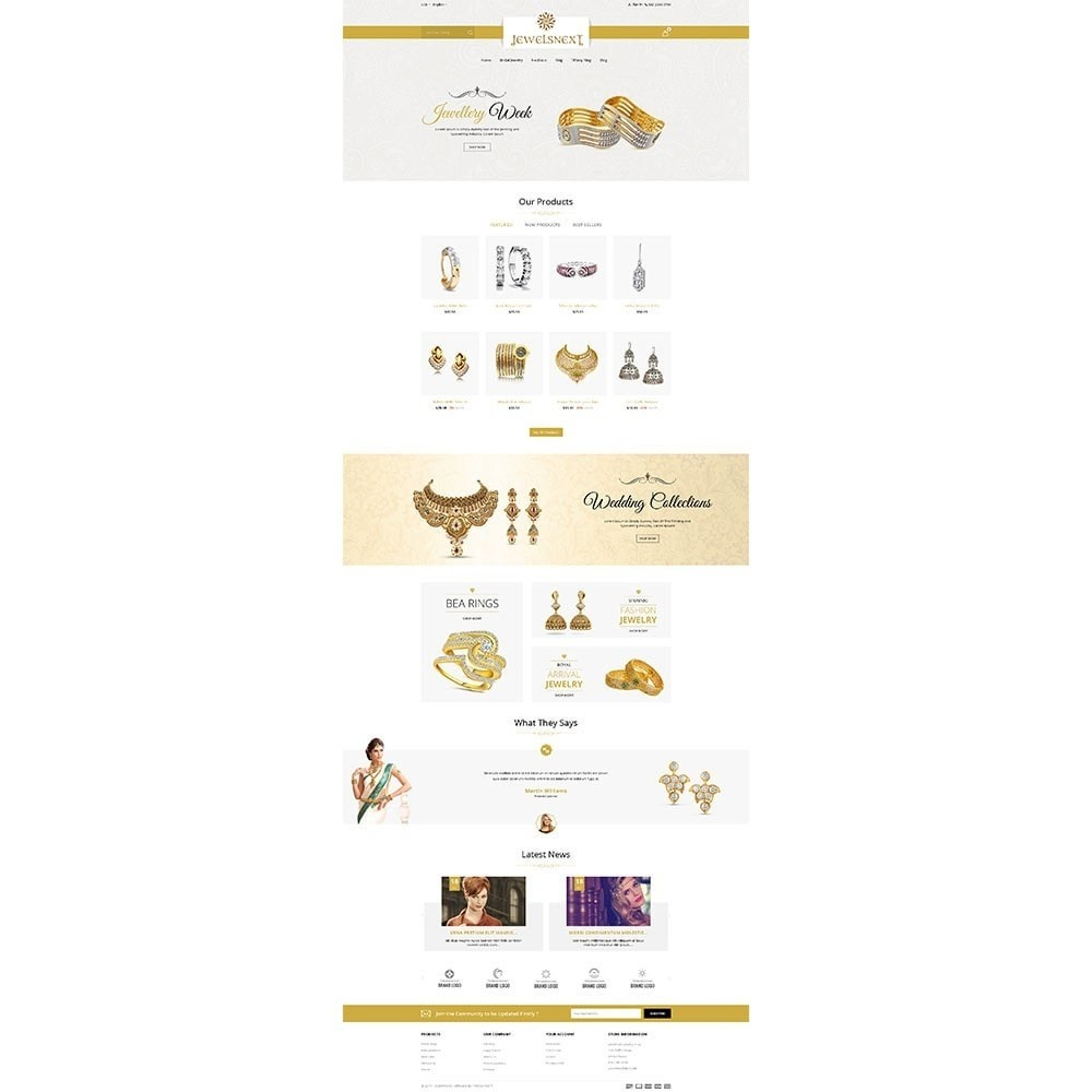 theme - Jewelry & Accessories - Jewelsnext Jewelry Shop - 2