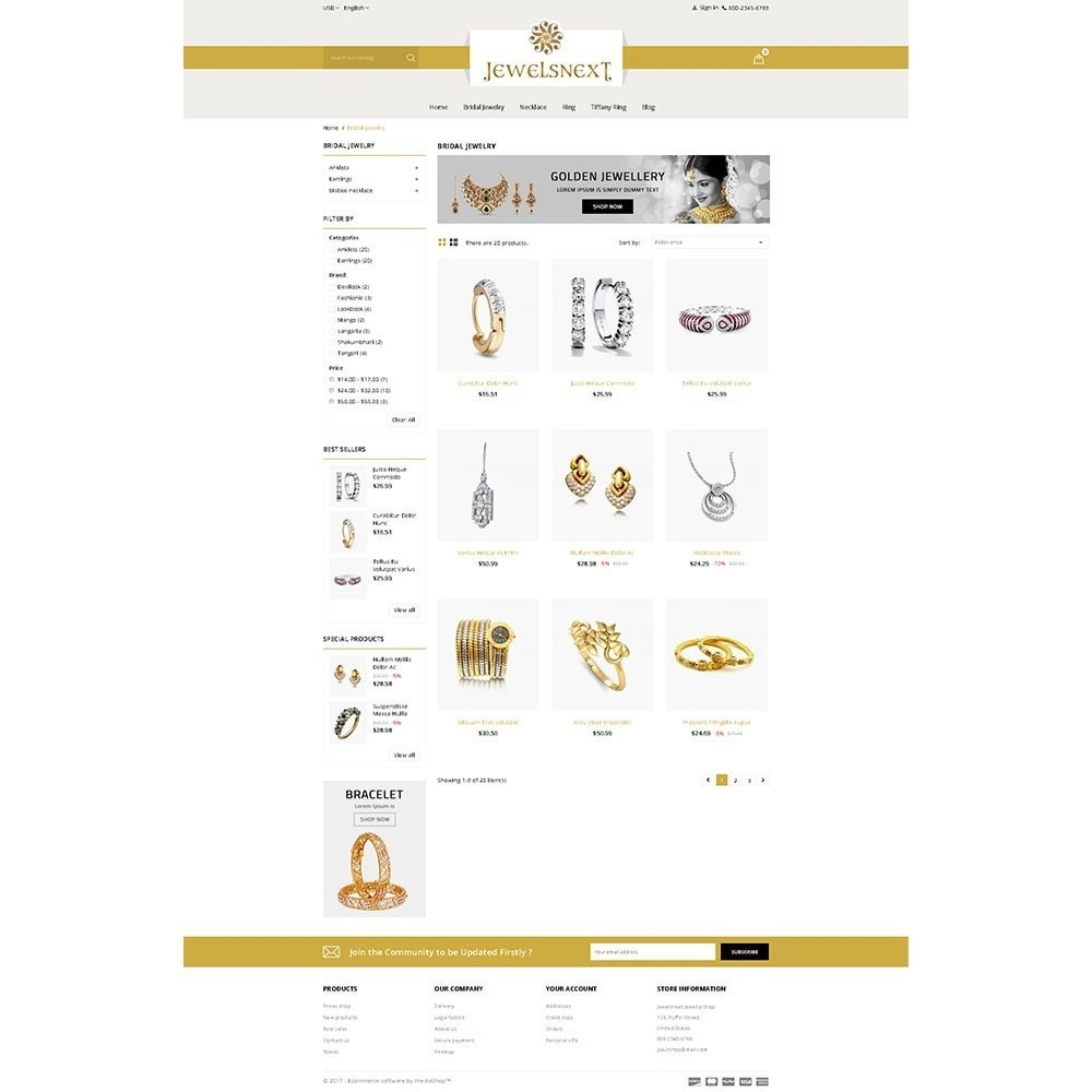 theme - Bellezza & Gioielli - Jewelsnext Jewelry Shop - 3