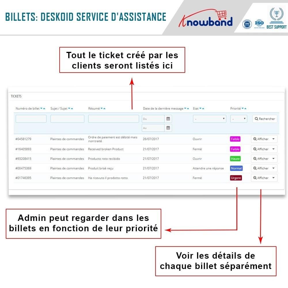 module - Service Client - Knowband - Centre d'assistance Deskoid - 4
