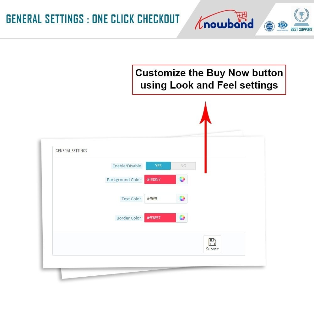 module - Express Checkout Process - Knowband - One Click Checkout - 4