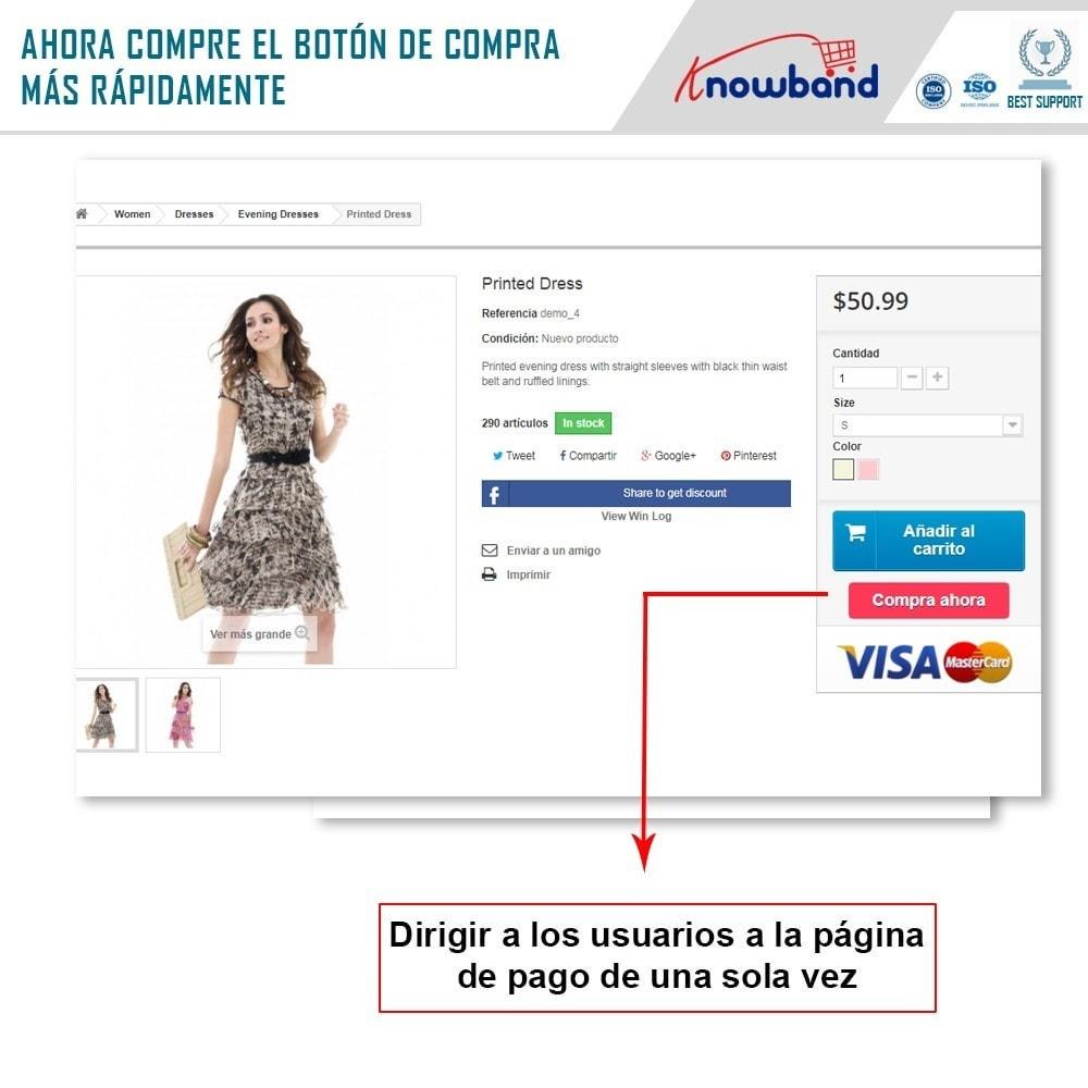module - Proceso rápido de compra - Knowband - Pago en Un Clic - 2