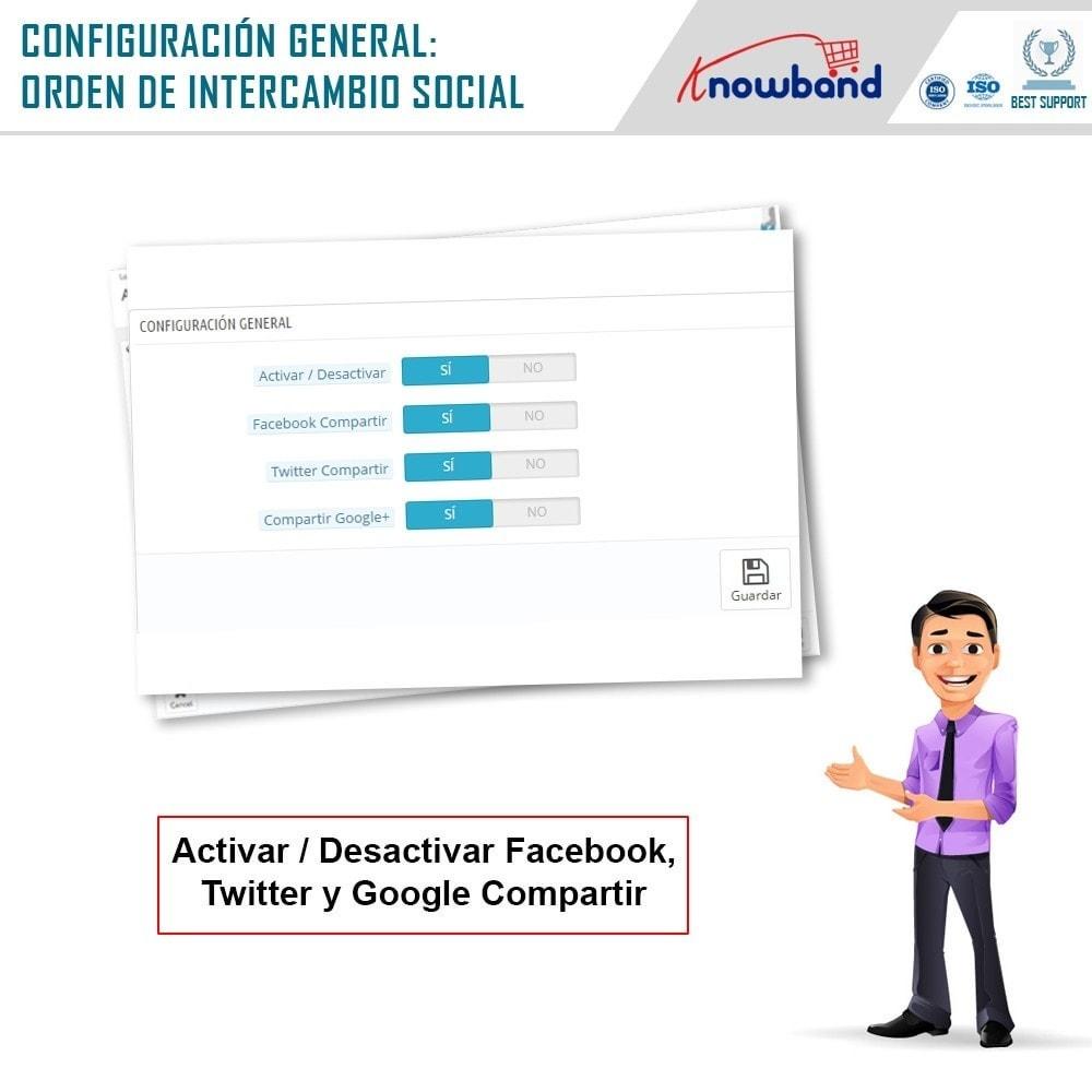 module - Compartir contenidos y Comentarios - Knowband - Compartir Pedidos en Redes Sociales - 7