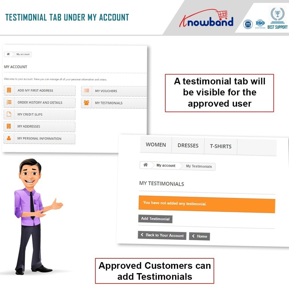 module - Customer Reviews - Knowband - Website Testimonial - 2