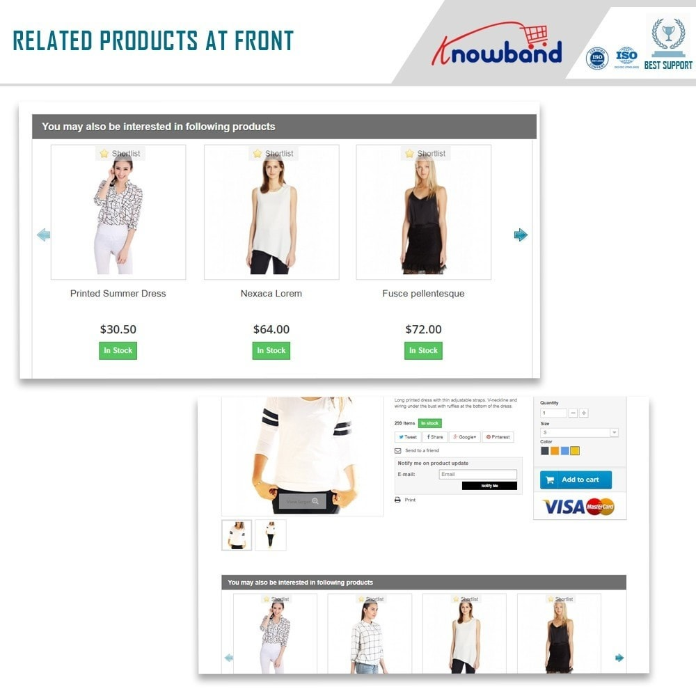 module - Cross-Selling & Produktbundles - Knowband - Automatic Related Products - 2
