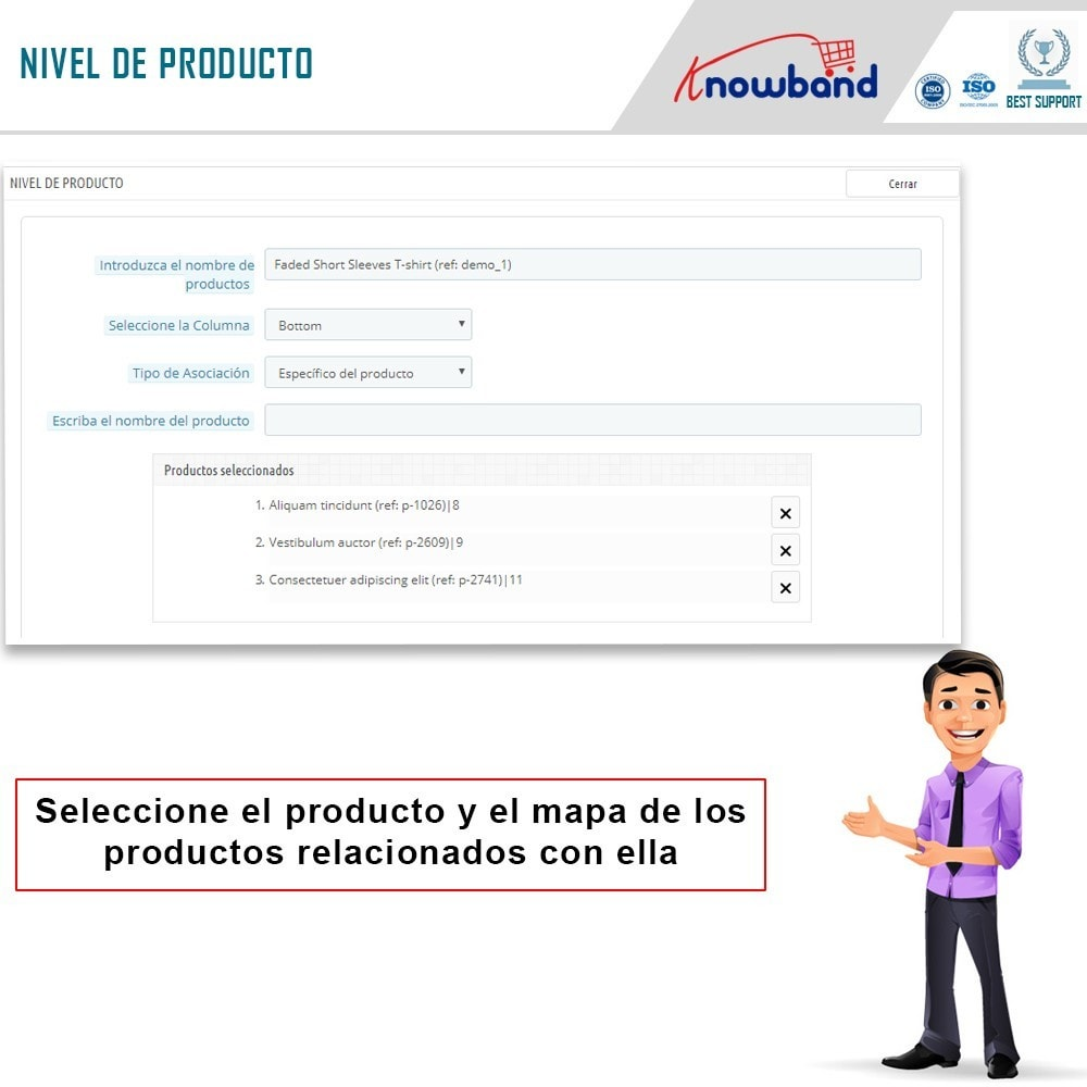 module - Ventas cruzadas y Packs de productos - Knowband - Productos Relacionados Automáticos - 4
