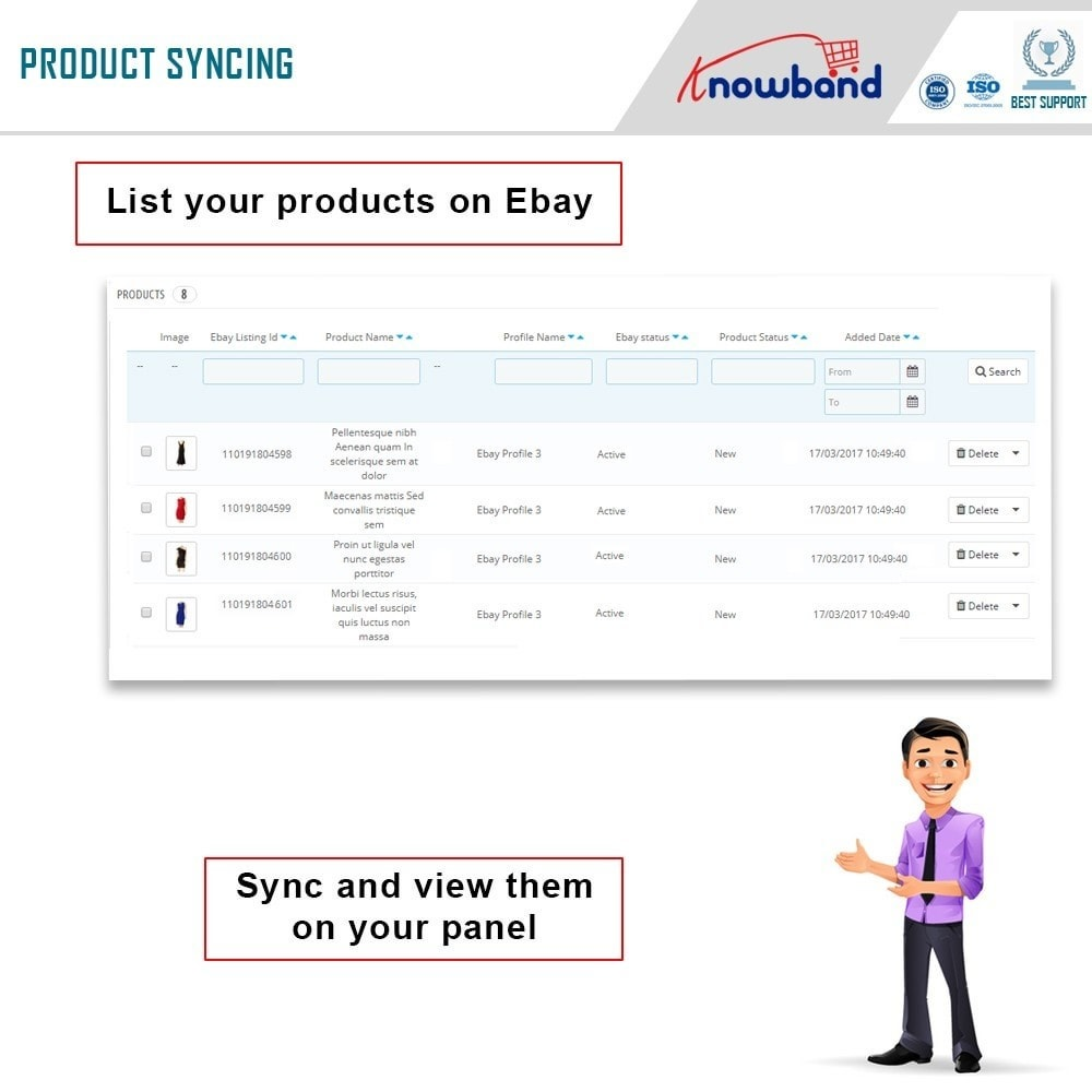 module - Revenda (marketplace) - Knowband - Ebay Marketplace Integration - 6