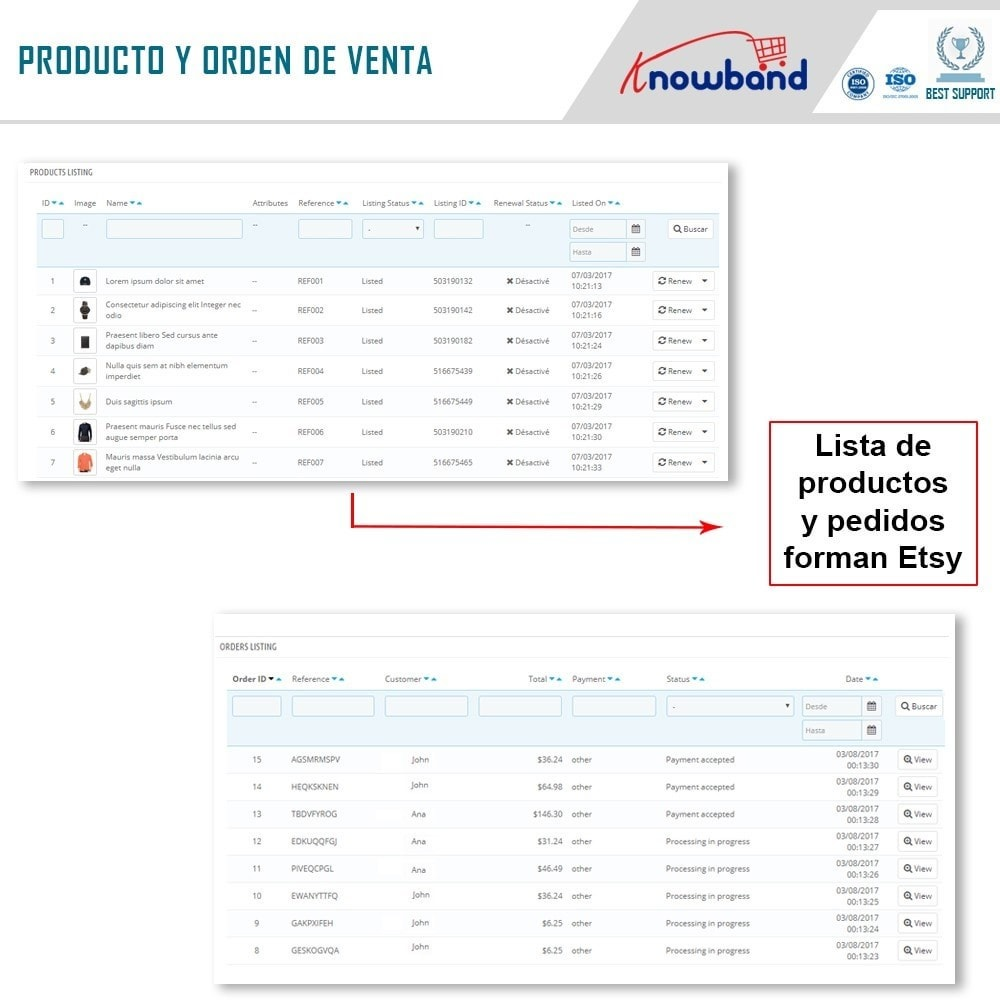 bundle - Integración con CRM, ERP... - Marketplace Integration pack - Sell on top marketplace - 7