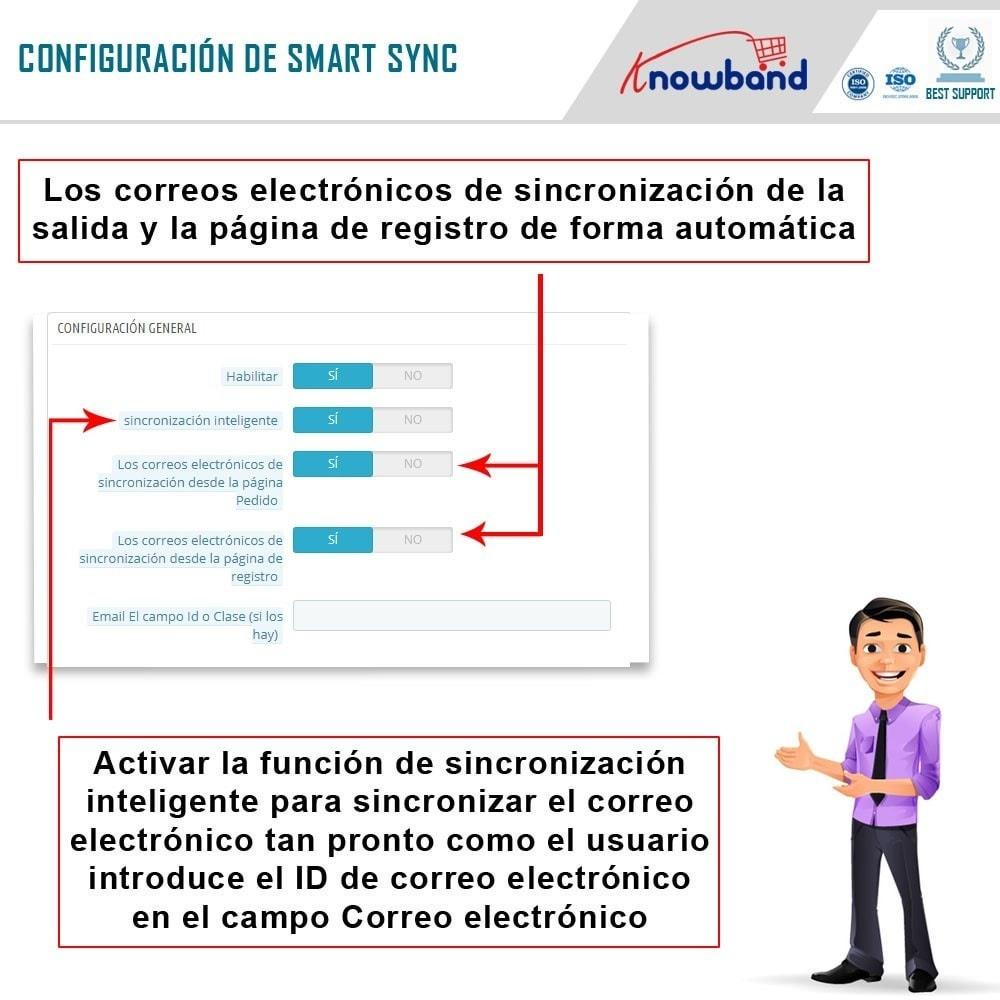 module - Newsletter y SMS - Knowband - Integrador Mailigen y MailChimp - 5
