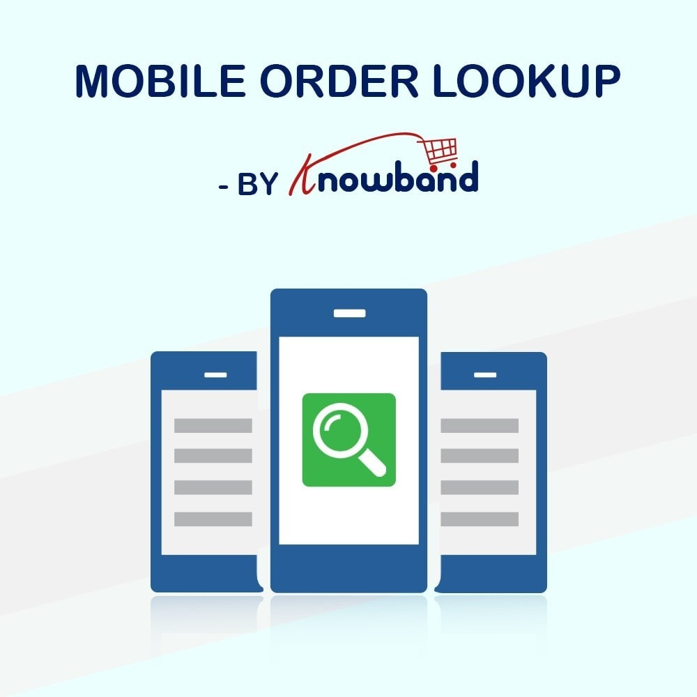 module - Gestione Ordini - Knowband - Mobile Order Lookup - Track Order Status - 1