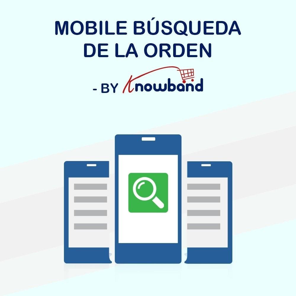 module - Gestión de Pedidos - Knowband - Seguimiento de la Orden - 1
