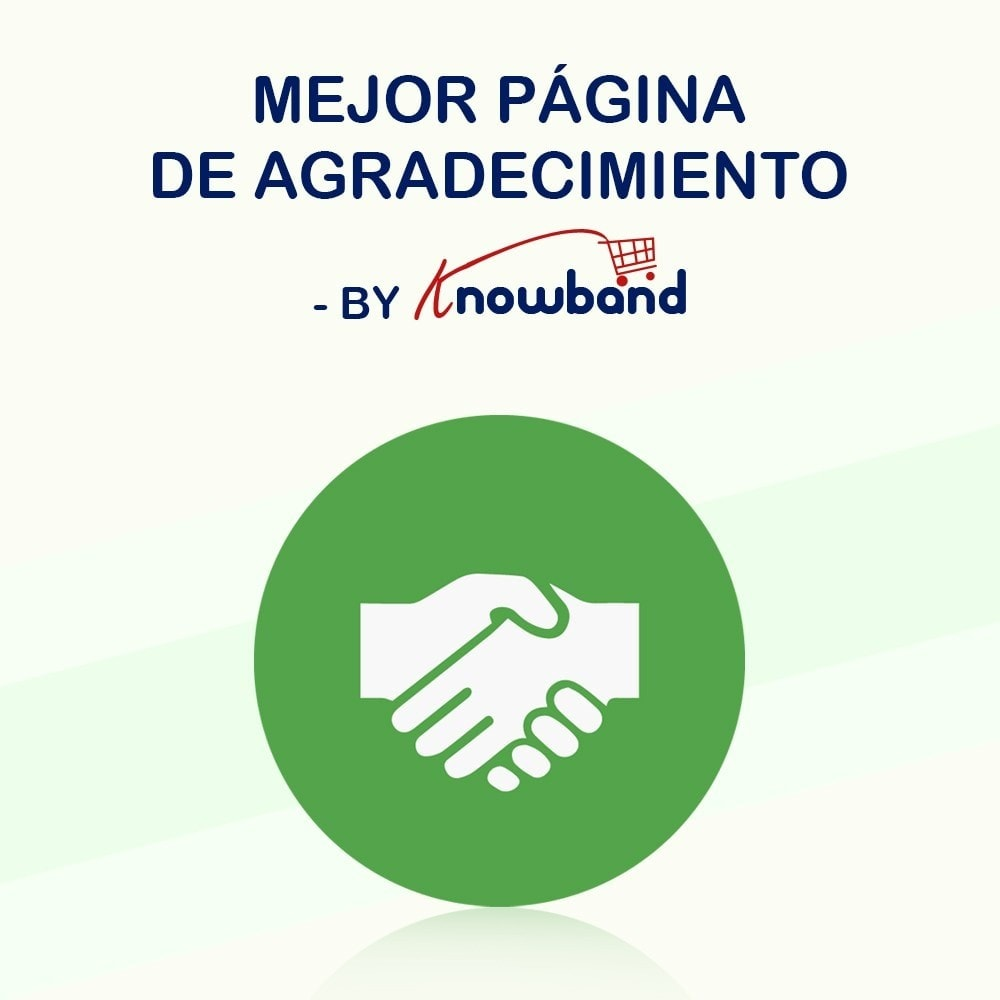 module - Inscripción y Proceso del pedido - Knowband - Página de Agradecimiento - 1
