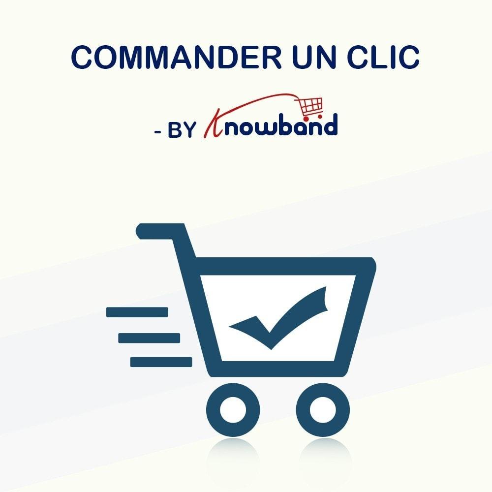 module - Processus rapide de commande - Knowband - Achat en un Clic - 1
