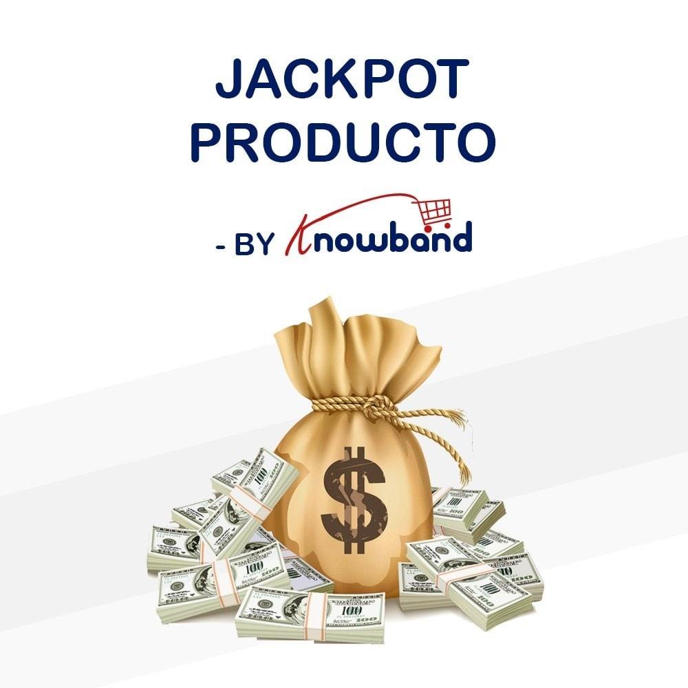 module - Promociones y Regalos - Knowband - Jackpot de Producto - 1