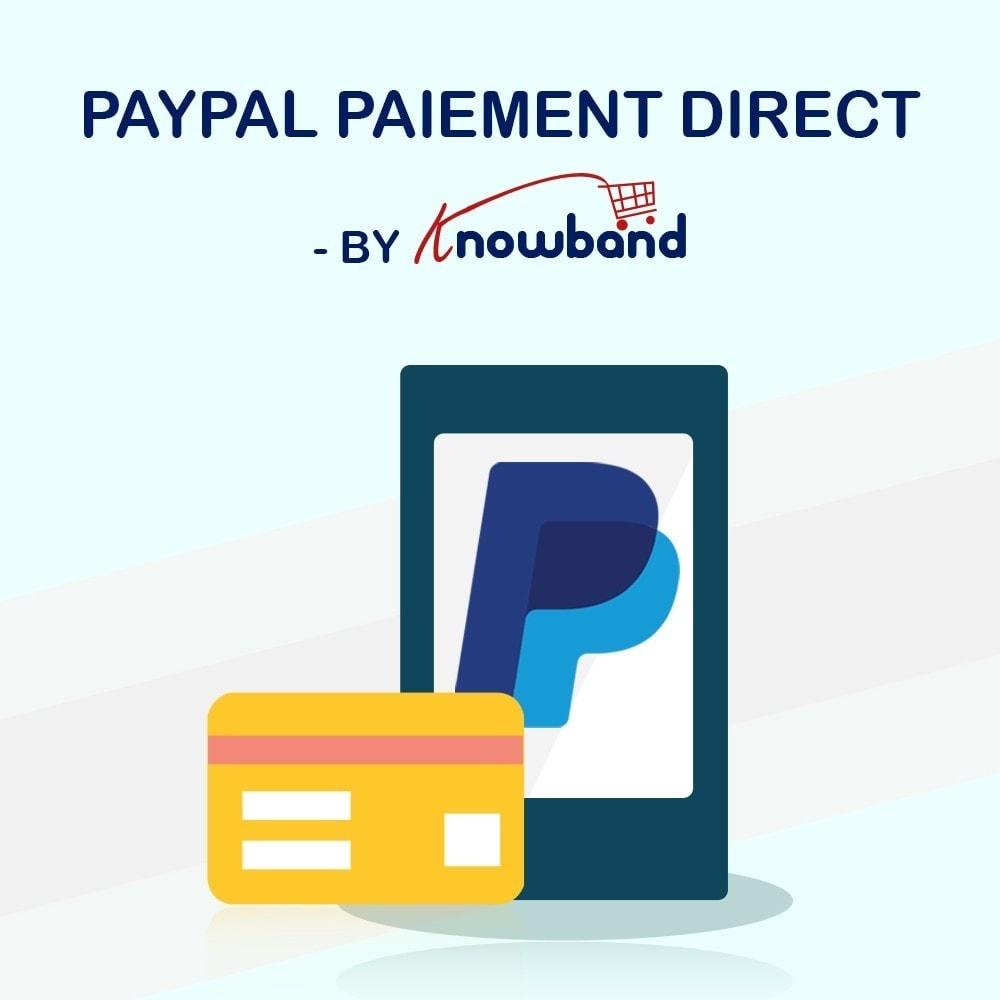 module - Paiement par Carte ou Wallet - Knowband - Paiement Direct par PayPal - 1