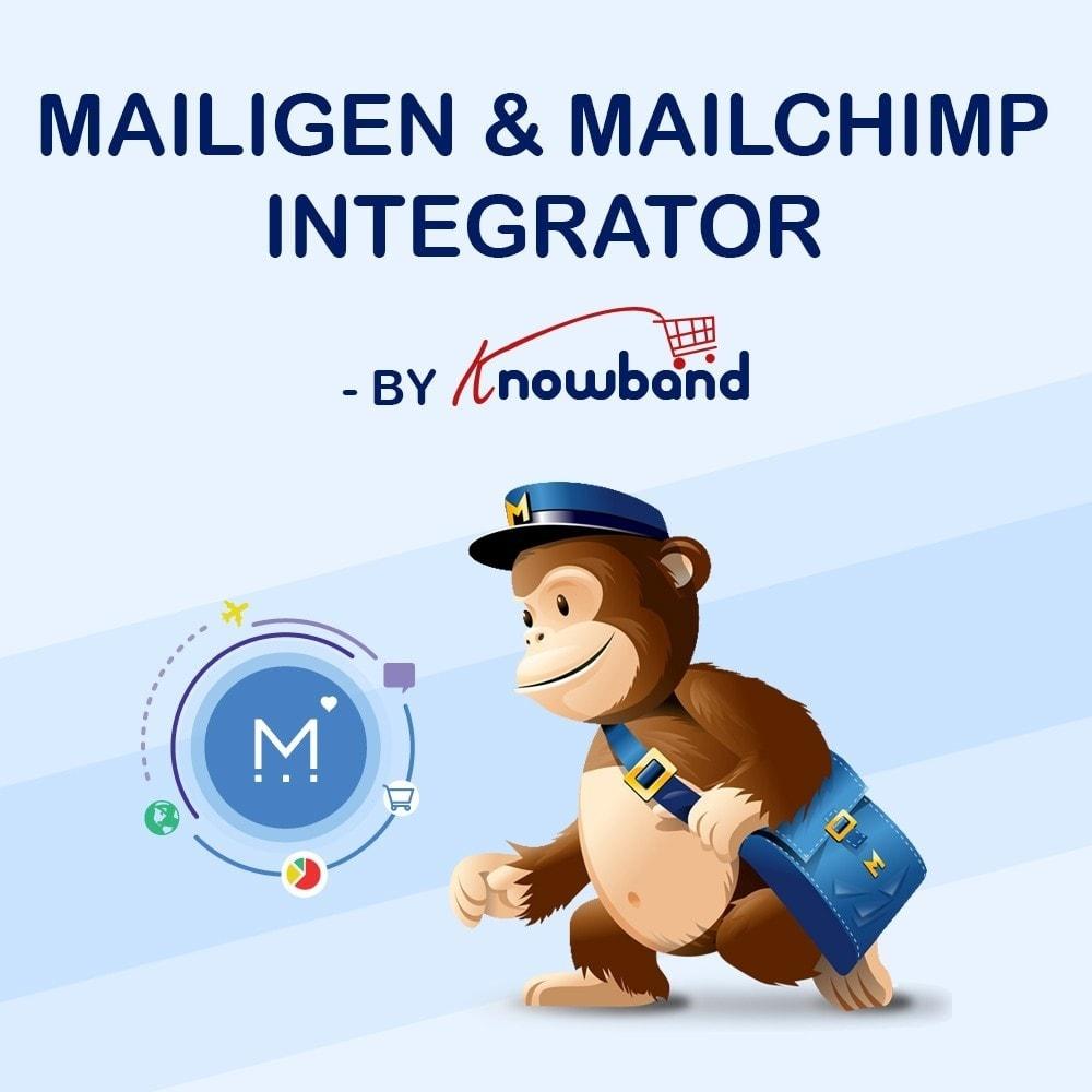 module - Newsletter & SMS - Knowband - Integrator per Mailigen e MailChimp - 1