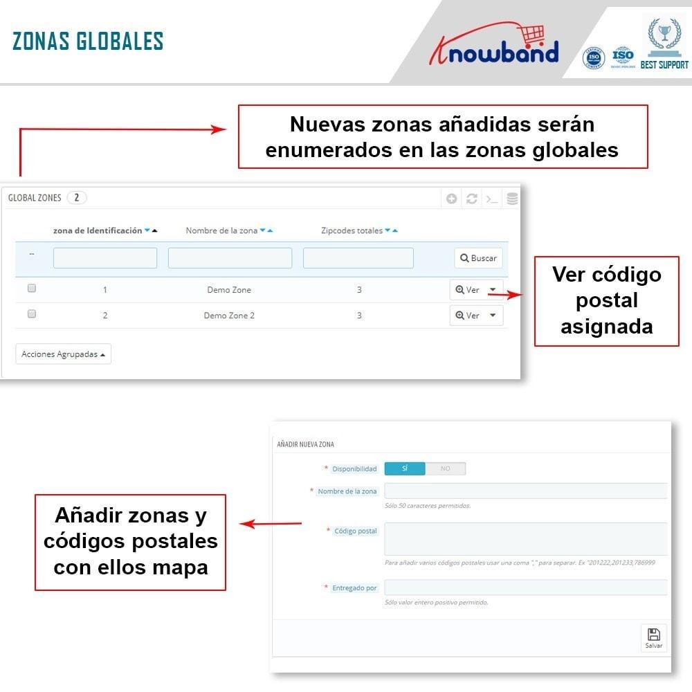module - Internacionalización y Localización - Knowband- Disponibilidad de productos por código postal - 5