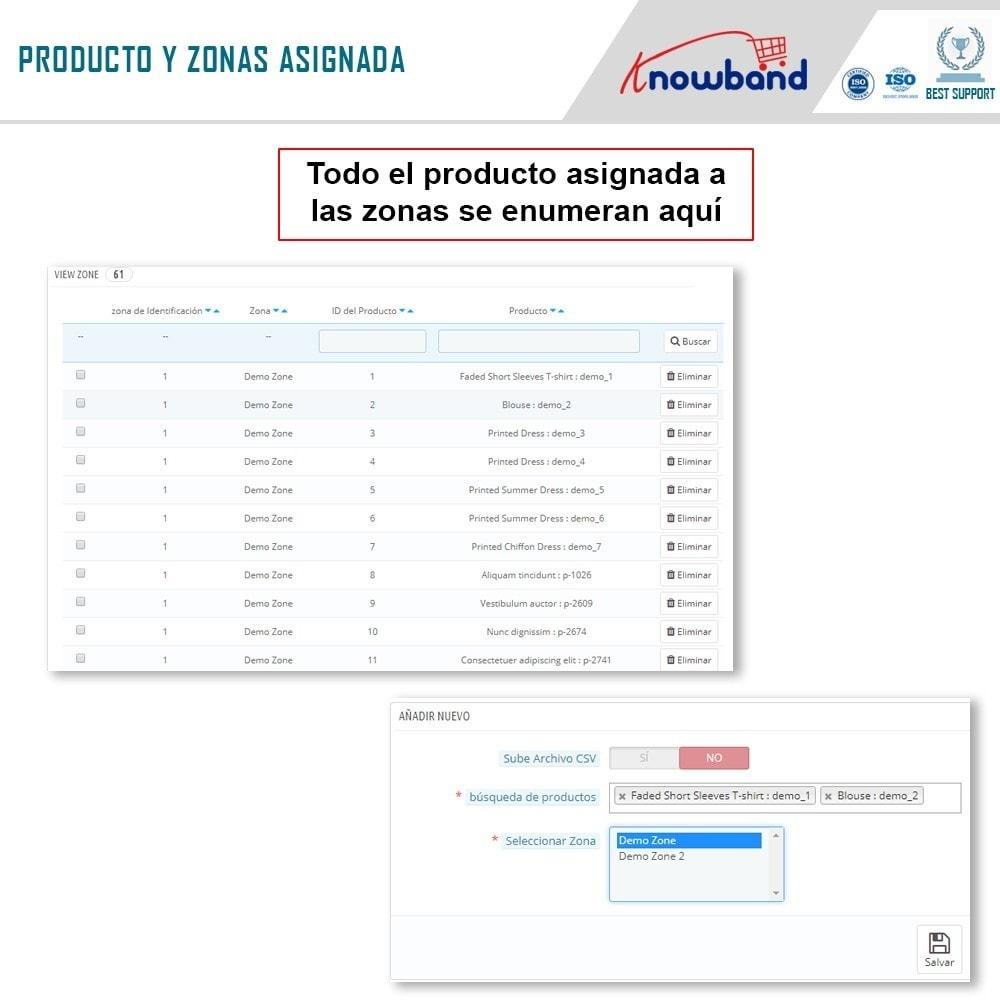 module - Internacionalización y Localización - Knowband- Disponibilidad de productos por código postal - 8