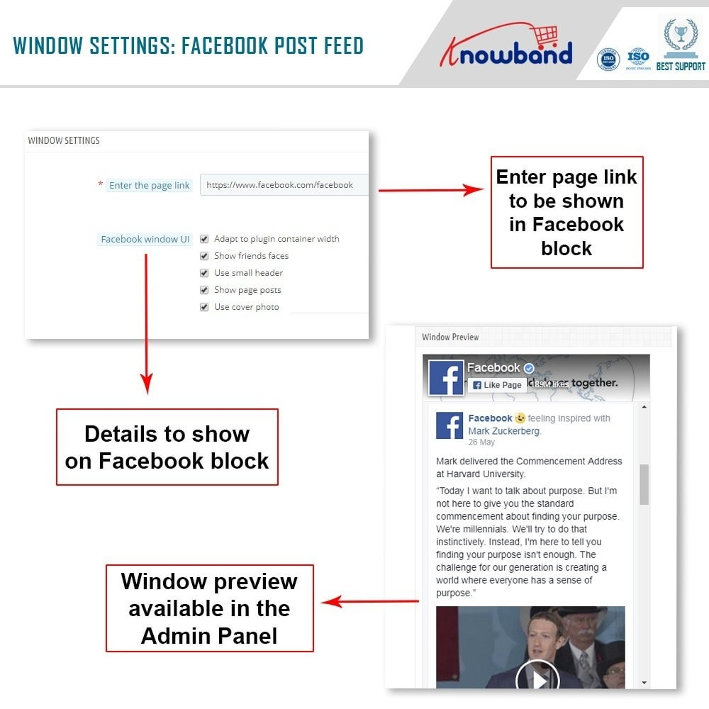 module - Widgets de Redes Sociais - Knowband - Post Feed - 4