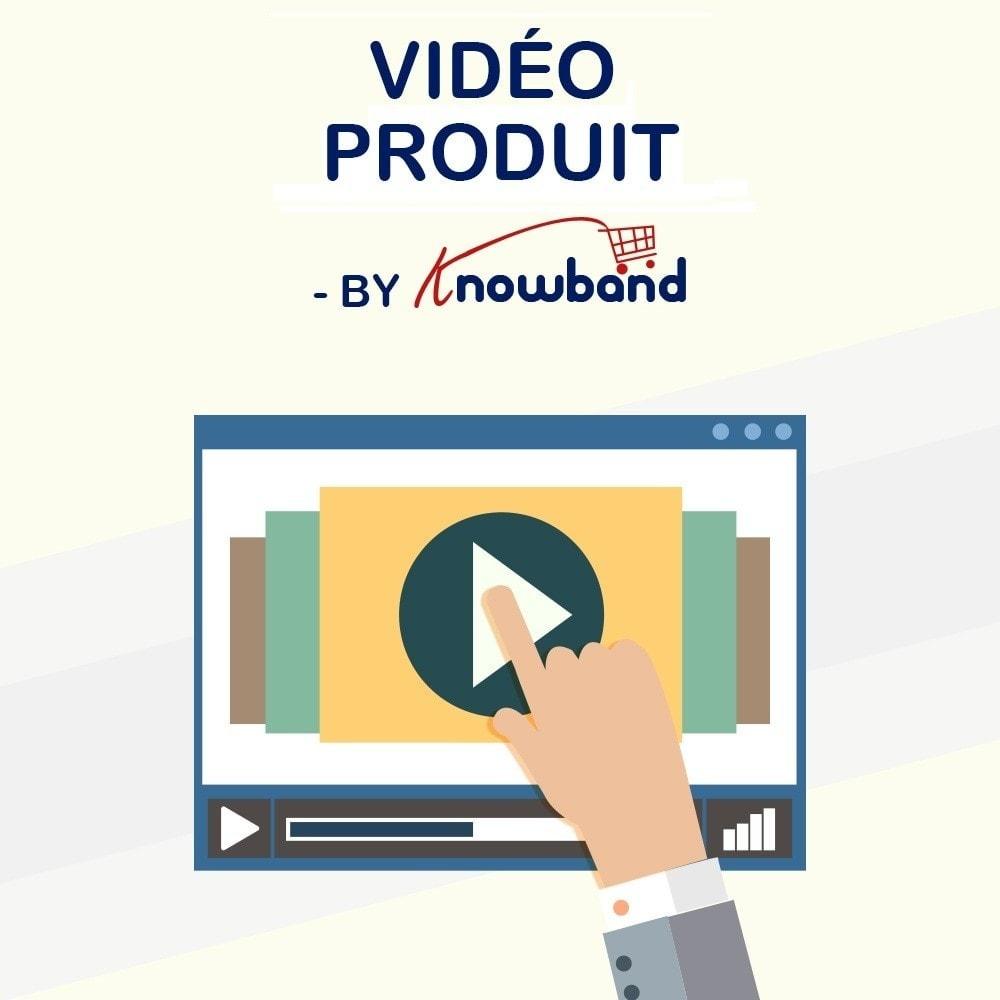 module - Vidéo & Musique - Knowband - Vidéo Produit - 1