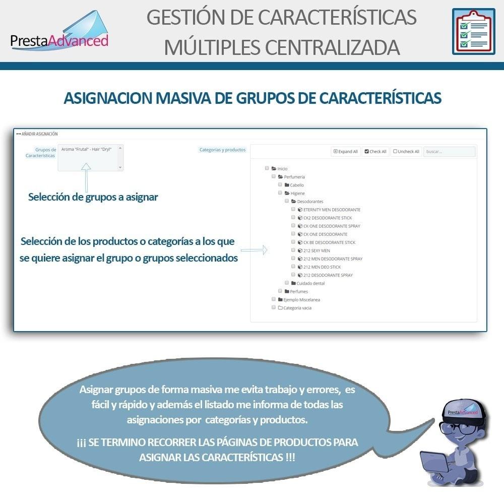 module - Edición Rápida y Masiva - Características: Gestión Avanzada Centralizada - 8