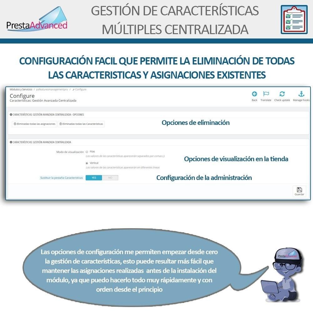 module - Edición Rápida y Masiva - Características: Gestión Avanzada Centralizada - 11