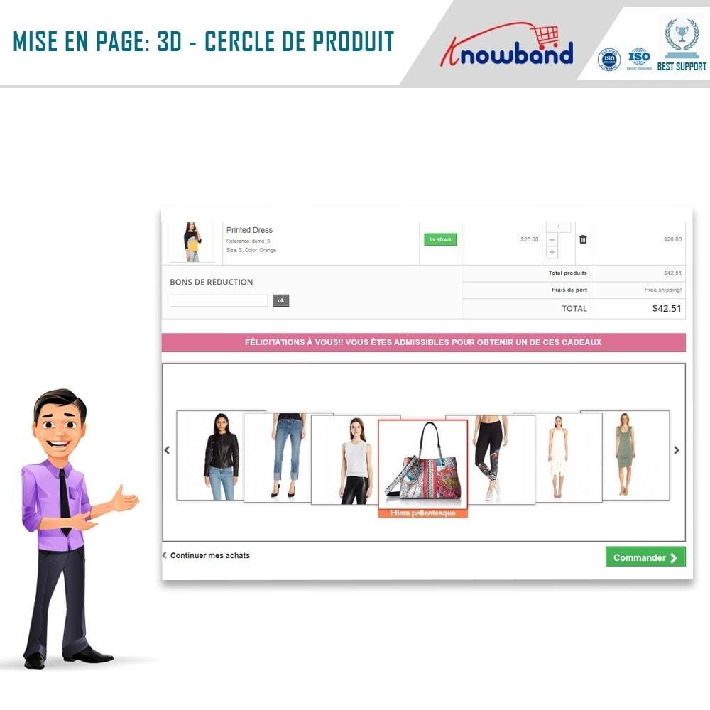 module - Promotions & Cadeaux - Knowband - Produits Cadeaux - 2