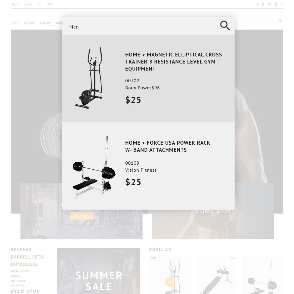 theme - Deportes, Actividades y Viajes - GymHulk - Gym Equipment - 2